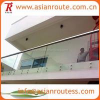 frameless glass railing/terrace railing designs/plexiglass deck railing