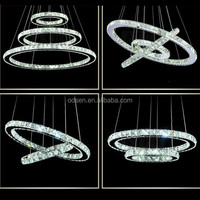 LED crystal pendant lighting