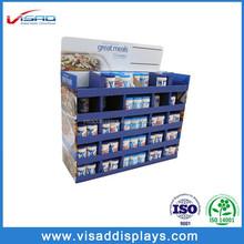 Wholesale shop retail medium cardboard flavour display