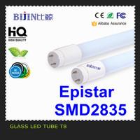 High Lumen Taiwan Epistar smd2835 18w 24w t8 led tube