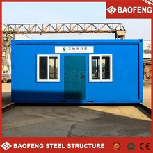 durable pre-made construction site cabins container office portable