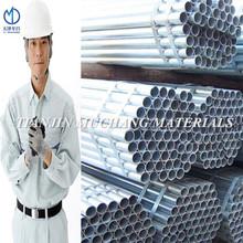 galvanizado en caliente tubería de acero