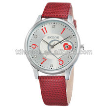 SKONE hot sale model 9160 colorful watches calendar