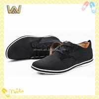 Fashion genuine leather soft men shoes