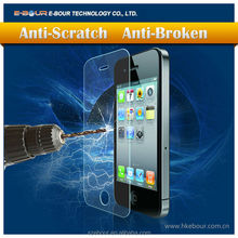 Mobile Phone Used For Screen Protector for iphone 4 4S 0.33mm round edge ebour011