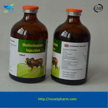 Best selling fast 1%B1+0.1%B2 Vitamin B complex injection dog products