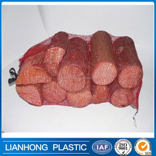 Vegetables, fruits mesh bag wholesale,firewood mesh bag for wood packing,bio-degradable and durable pp mesh bag with cheap price