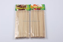 Custom Cheap flat bamboo sticks,flat bamboo pick skewer stick