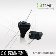 Powerful Invisible Digital CIC Hearing Aids with soft shell, Super mini sound amplifier