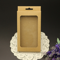 Eco-friendly Kraft Packaging Box for Mobile Phone Cover