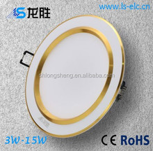 Ultra slim led downlight manufacturer supply, 3w 3x1 led downlight