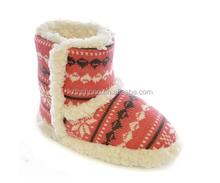 Winter new warm fashion soft cashmere women snow boot