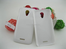 Plastic Hard PC glossy blank case for Micromax A114,good for UV printing