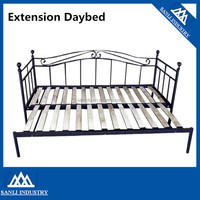 Modern Metal Double Extension Daybed Couch Sofa Bed