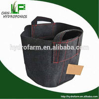 hydroponics 1,2,3,5,10,15,20,25 gallon garden plant flower fabric pot/mesh plant covers
