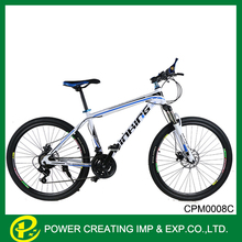 Faster carbon steel 26inch mountain bicycle used comfort saddle