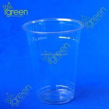 Générale utilisé papier en plastique tasse couvercles / effacer plastique dur verre clair en plastique dur verre