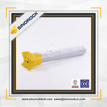 SINOROCK high quality hollow self drilling galvanized soil nailing