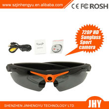 HD 720P DVR sunglasses with camera Remote Control Glasses Camera with colorful lens avaliable170 Degrees Wide Angle Lens