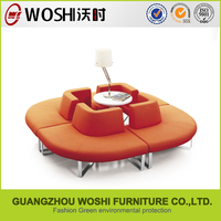 2014 the most popular modern sofa with adjustable back rest