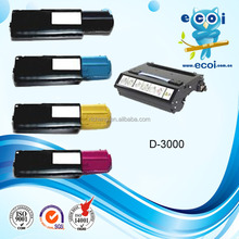 compatible color toner cartridge 3100 for Dell 3000N/3100N stable qualiy