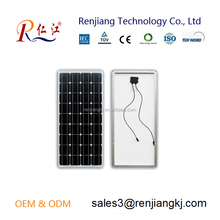 Renjiang solar panel mono 50W A-grade solar cell competitive price high quality factory direct