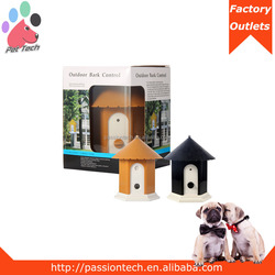 2015 Puppy Dog Outdoor Ultrasonic Anti Barking Control Birdhouse Bark Stop Nuisance