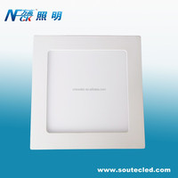 12W Ceiling Mount LED Panel Lamp CE RoHS Square Ceiling Lamp 12W