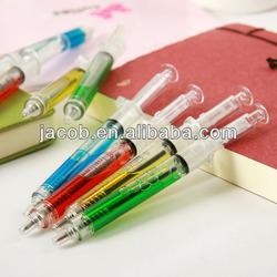 new design syring ball injection ballpoint pen imprint logo 1000pcs free shipping