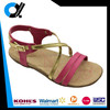 Brands design woman beach sport sandal with PU upper cork sole
