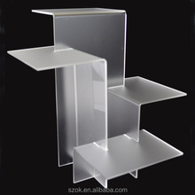latest design funny high quallity acrylic shopping retails display stand