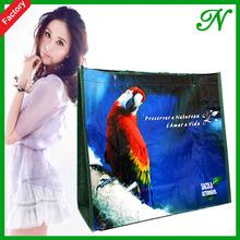Full Colorful PP Woven Shopping Bag,Handled bag ,Totebag