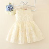 Wholesale baby handmade smocked dress christening gowns for girls