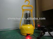 HOT SLAE! emergency rechargeable brightness adjustalbe outdoor solar powered camping lantern