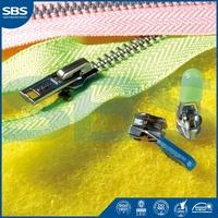 newly design resin zipperfor hometextile,SBS zipper puller with logo metal zipper,7# close-end nylon zipper