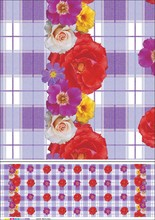 Decorative Printed PVC tablecloth in roll