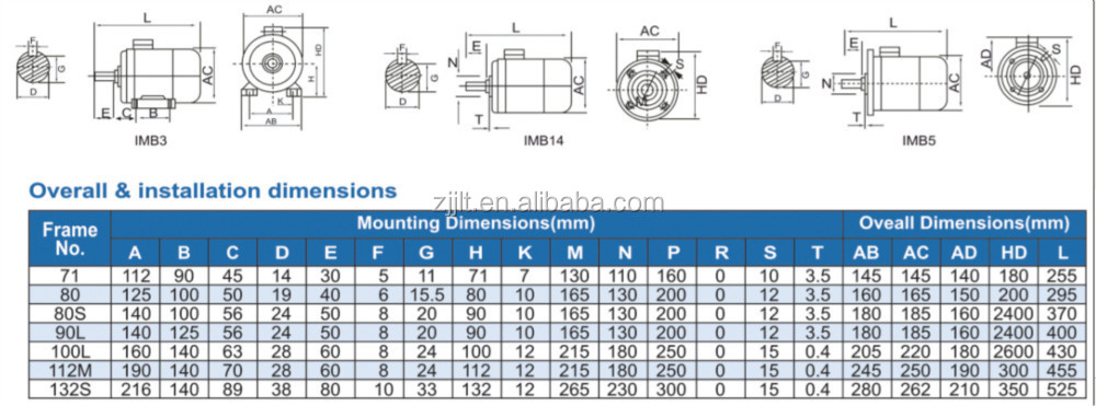 Yl Single Phase Two Value Capacitor Electric Motor /squirrel Cage ...