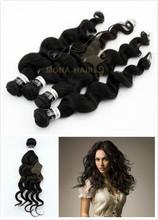 wholesale supply 6A grade virgin indain hair weave