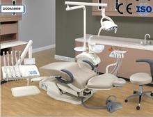 DODA Dental instrument-high quality dentist chair Dental Chair unit with LED sensor lamp light cure and scaler