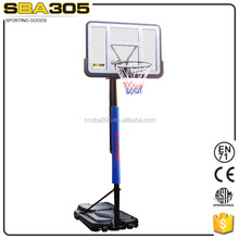 on the ground deluxe basketball set