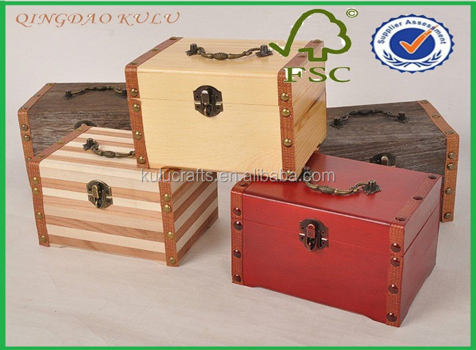 Keepsake Box With Lock Essence Wood Keepsake Box