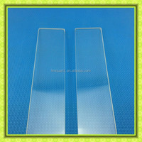 3-19mm clear tempered borosilicate glass