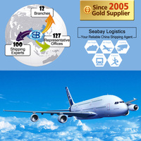 Cheap china air freight cargo shipping forwarder services rates to mexico city