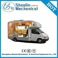 Top selling mobile kitchen vehicle for sale