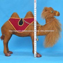 Rellenos pequeños camellos de plástico promocionales de alta calidad