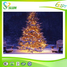 2015 New Arrival Garden Decorative LED Christmas Tree light made in China,Optical fiber tree