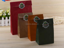 Vintage Style Eco-Friendly Paper Packing Bag kraft Paper Handbag