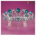 Accesorios para el cabello rhinestone diseño chicas pageant crowns