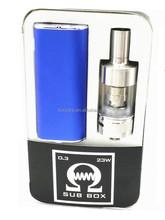 2015 Koncare newest vaporizer kit 2200mAh OLED screen vv/vw box mod U20 kit