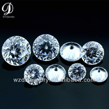 China high quality AAAAA quality 100 facets synthetic cubic zirconia loose stone